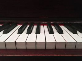 Photo free pianos, keys, musical instrument