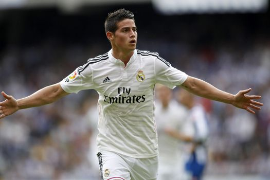 Фото бесплатно Реал Мадрид, Хамес Родригес, футболист
