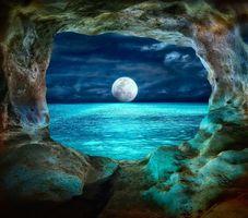 Фото бесплатно скала, арка, окно
