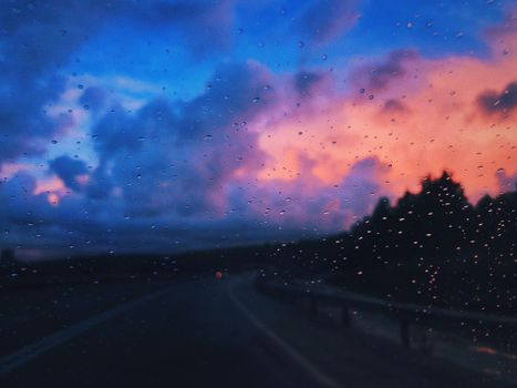 Photo free glass, drops, blur