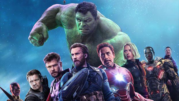 Photo free black widow, hulk, iron man