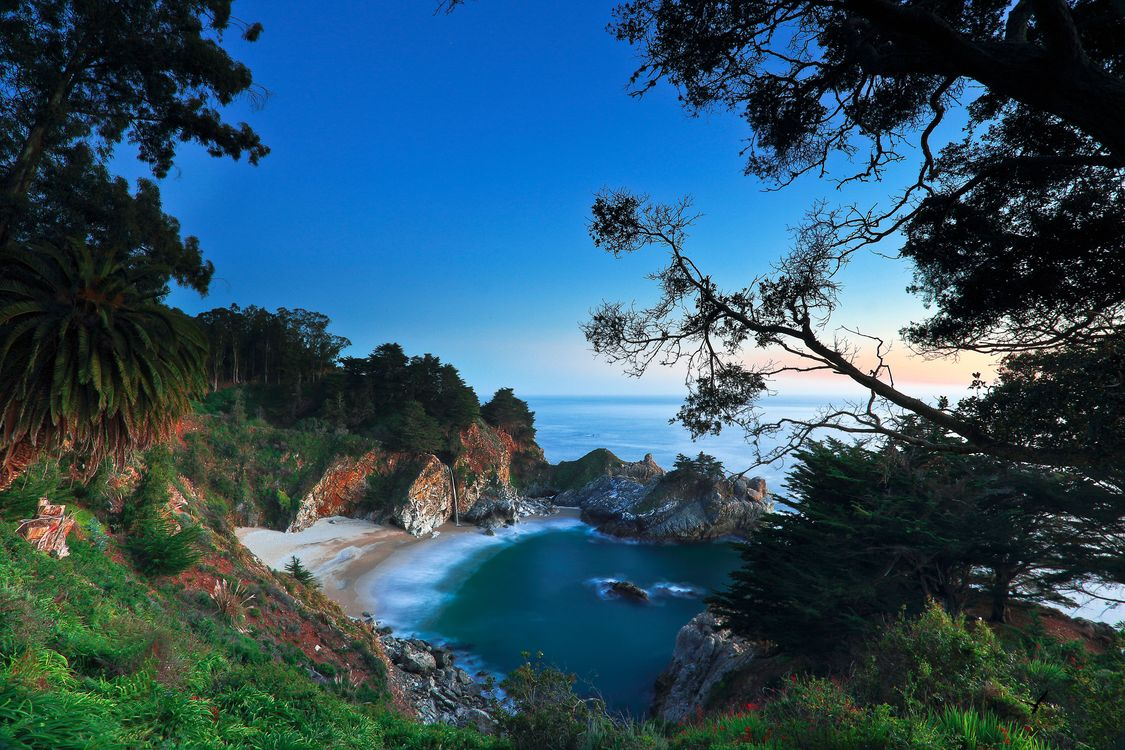 Photos for free shore, Julia Park Pfeiffer Bern, beach - to the desktop