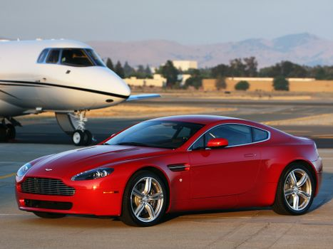 Photo free Aston Martin, Aston Martin Vanquish, aston martin v8