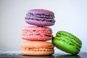 Бесплатные фото макароны,миндальное печенье,выпечка,красочные,macaroons,almond biscuits,pastries