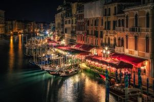 Фото бесплатно Canal Grande, Venice, Italy