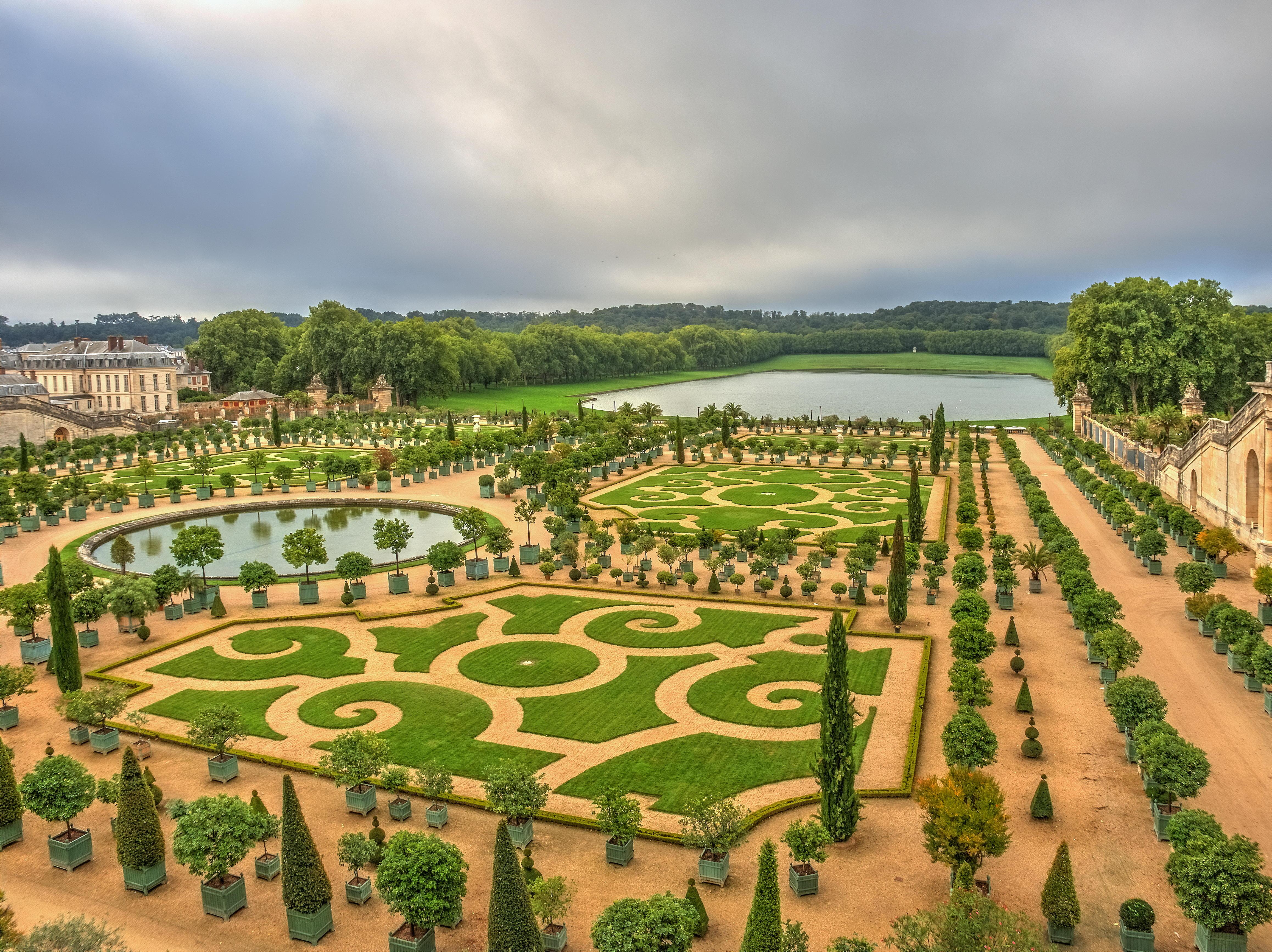Обои Версаль, Франция, Европа, Версальский Дворец