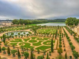 Бесплатные фото Версаль,Франция,Европа,Версальский Дворец,дворец,сады,цветы