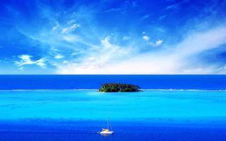 Бесплатные фото тропики,море,остров,яхта