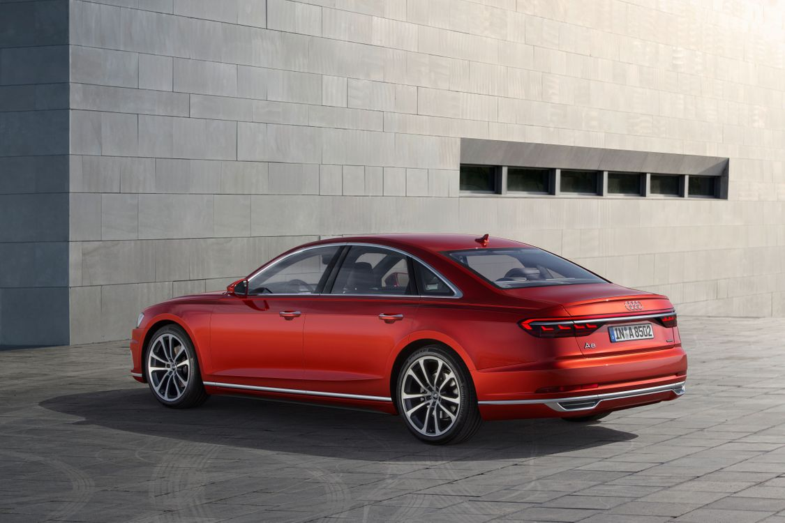 Фото бесплатно Audi A8, машина, стена, здание, автомобиль, quattro, машины