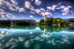 Заставки Остров Блед, Озеро Блед, Словения