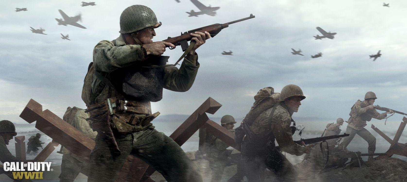 Фото бесплатно Call Of Duty Wwii, Call Of Duty Ww2, чувство долга - на рабочий стол
