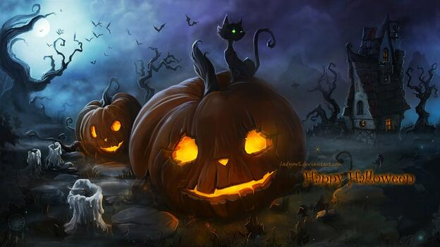 Photo free Halloween, pumpkin, food