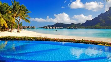Бесплатные фото море,остров,пляж,пальмы,отдых,тропики