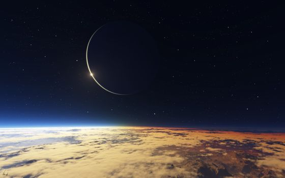Фото бесплатно атмосфера, галактика, облака