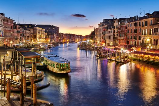 Photo free Venice, Italy, the Grand canal