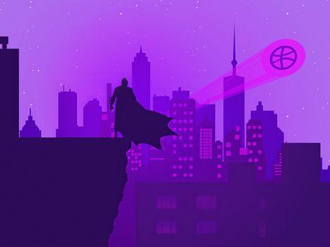 Заставки бэтмен, супергерои, художник