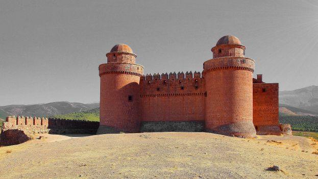 Фото бесплатно города, Испания, замок