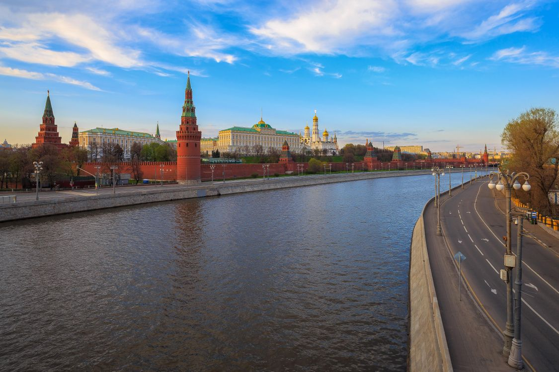 Free photo Moscow, Russia, Moscow River - to desktop