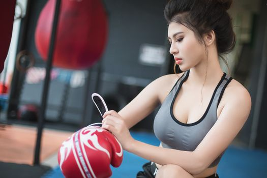 Asian and Boxing · free photo