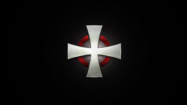 The drawing of the cross