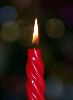 Photo free candle, wax, wick