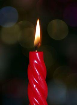 Фото бесплатно свеча, воск, фитиль