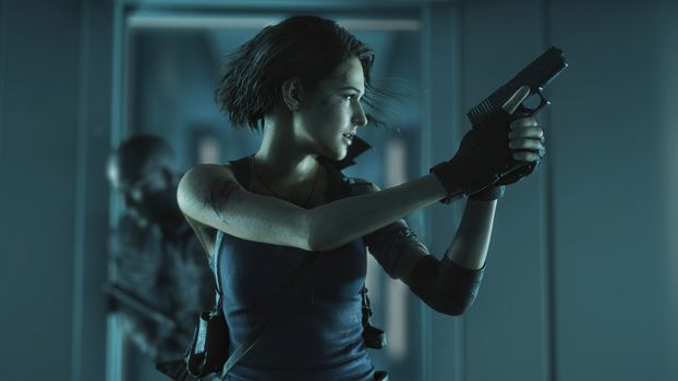 Фото бесплатно игры, Resident Evil 3, Resident Evil