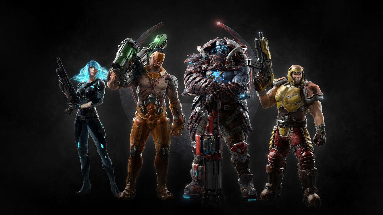 Фото бесплатно Quake Champions, 2018 Games, игр - на рабочий стол