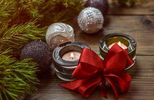 Фото бесплатно рождество, украшение, лук