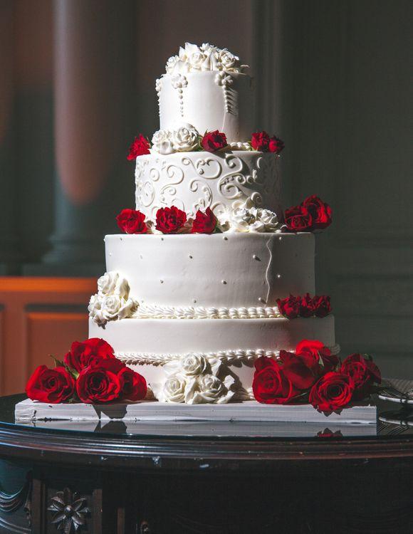 Свадебный торт • бесплатное фото