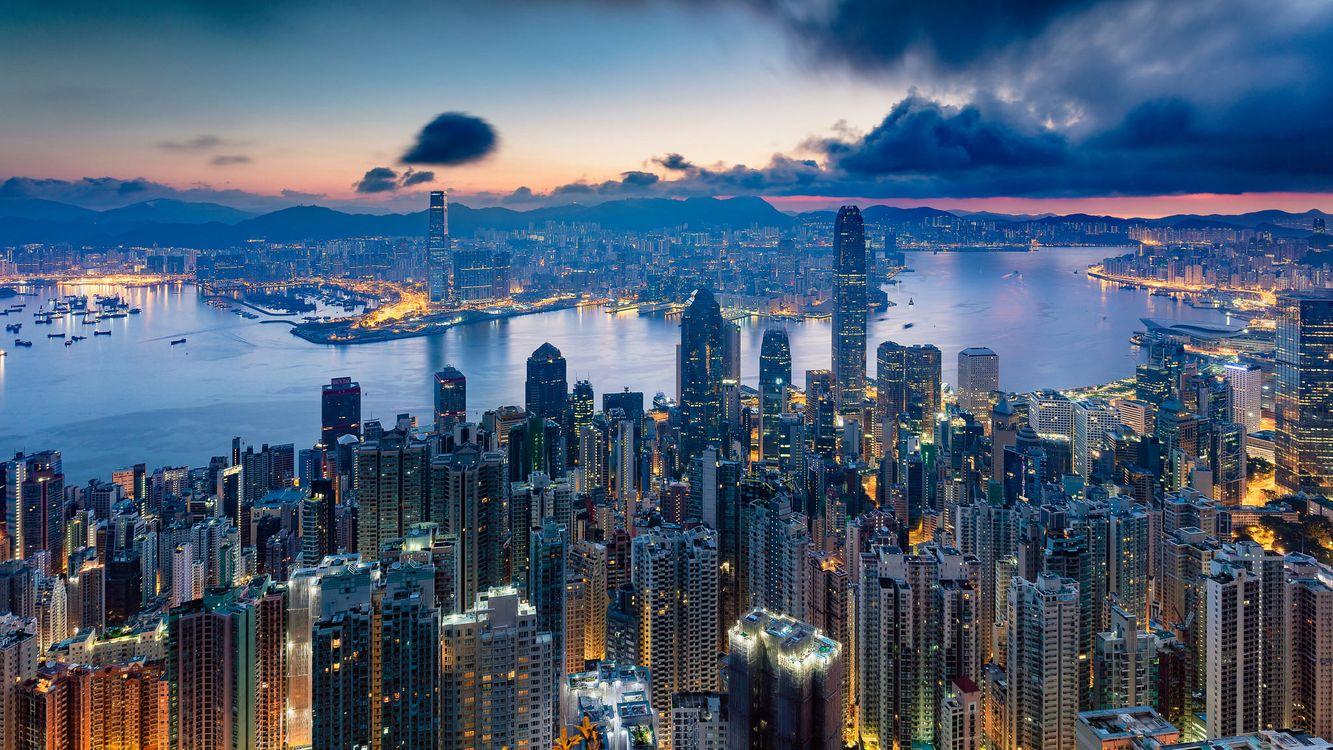 Бесплатно китай, гонконг - фото красивые