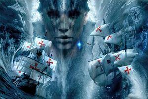 Бесплатные фото Лусиадас,Море бури,фантастика