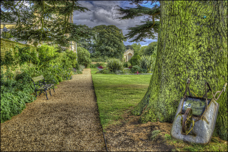 обои Замок Эшби, Нортгемптон поместье, парк, сад картинки фото