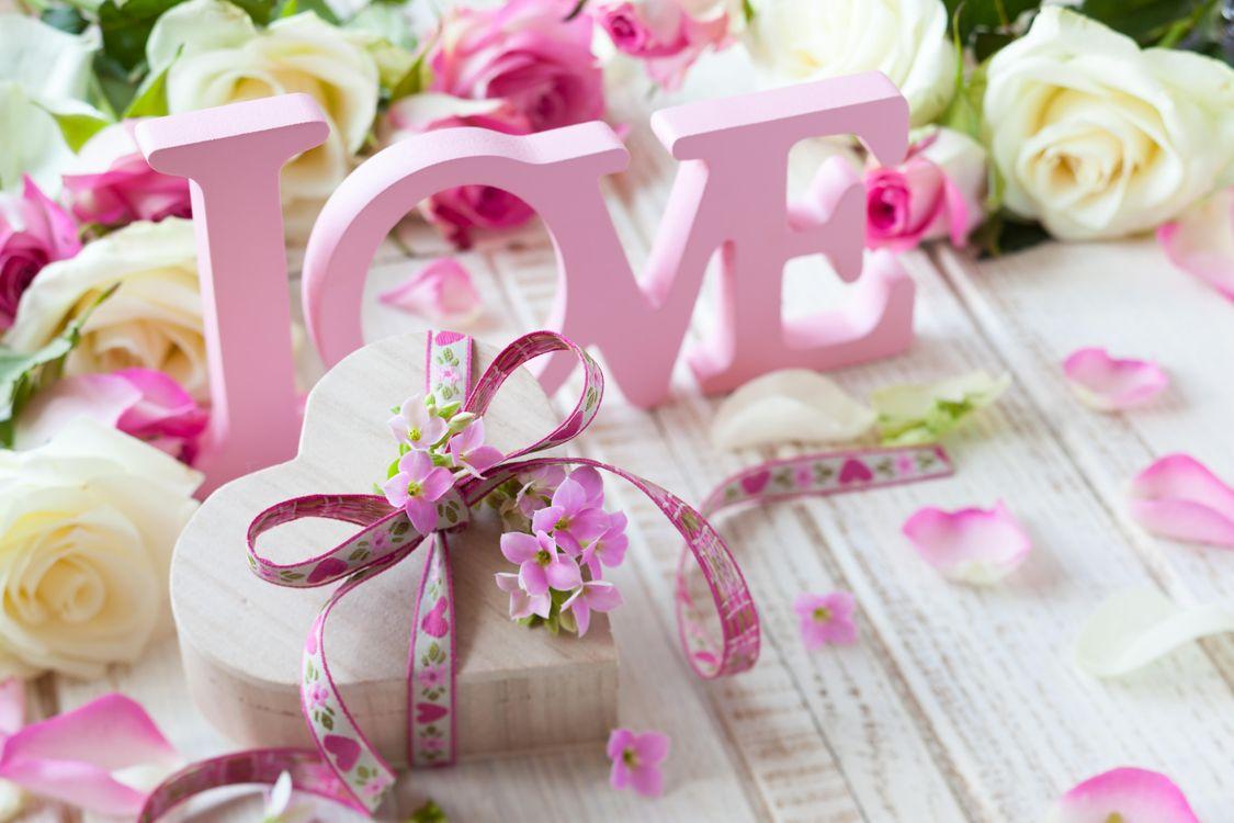 Фото бесплатно валентина, любовь, розы - на рабочий стол