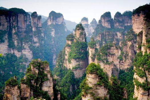 Photo free landscape, China, rock