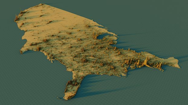 Заставки 3d map, graph, united states