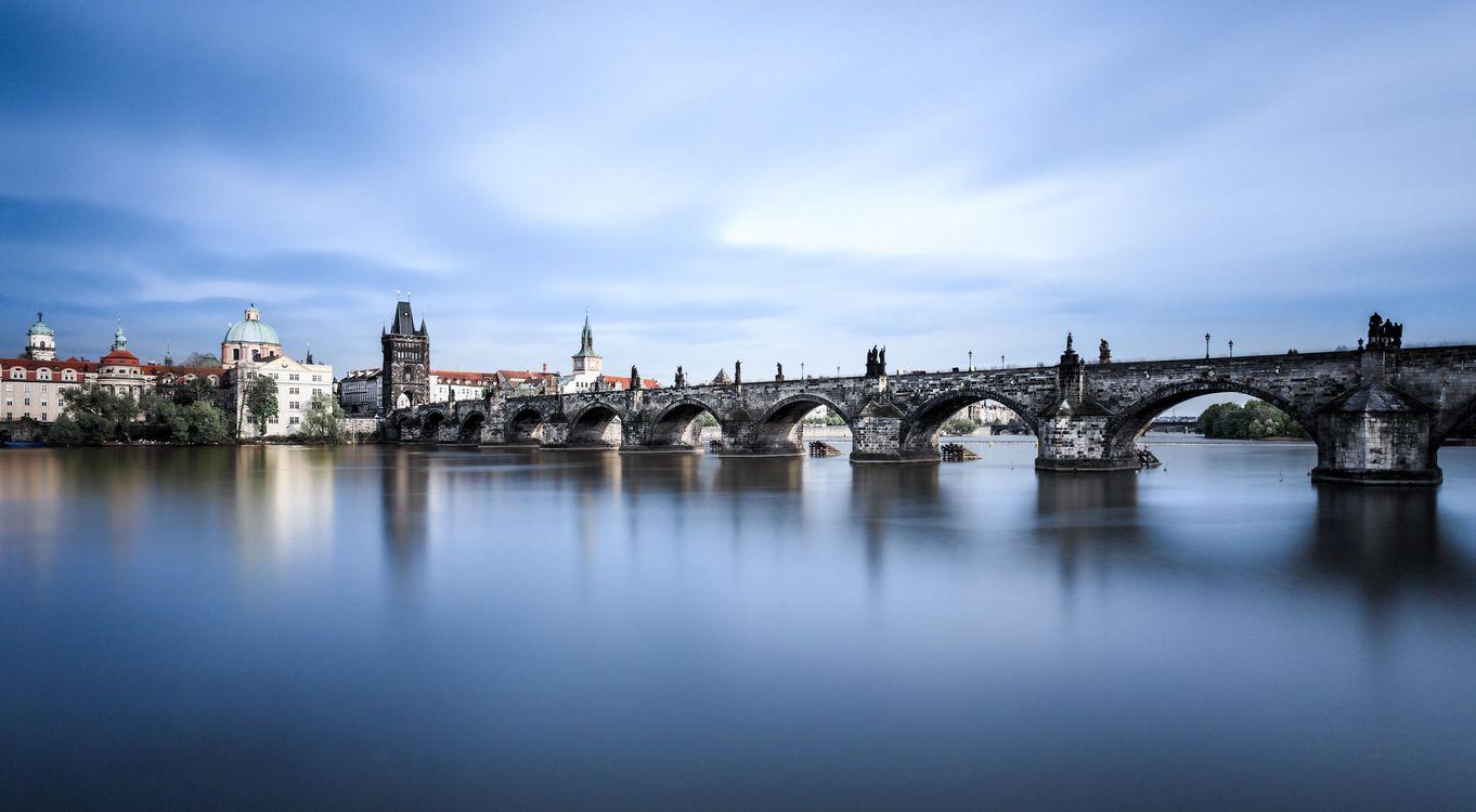 Фото бесплатно Чешская Республика, Прага, Чехия, Река Влтава, город