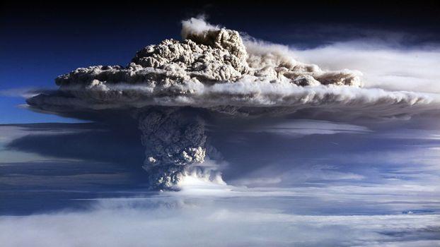 Photo free explosion, nature, smoke