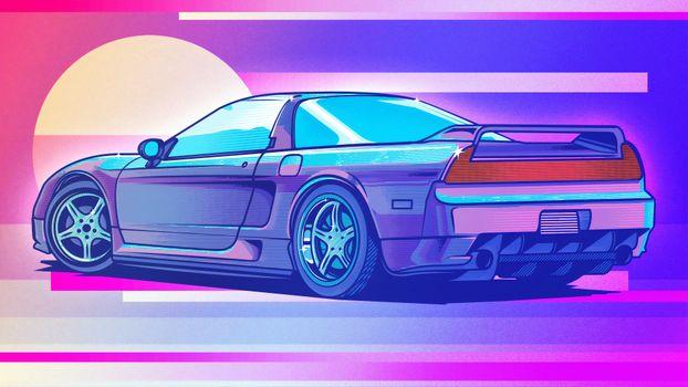 Фото бесплатно хонда nsx, honda, автомобили