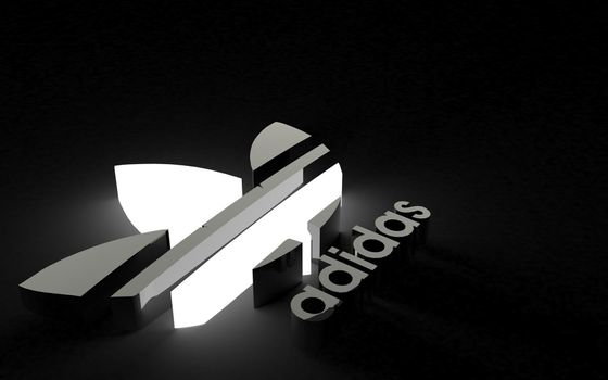 Photo free Adidas, 3d, logo