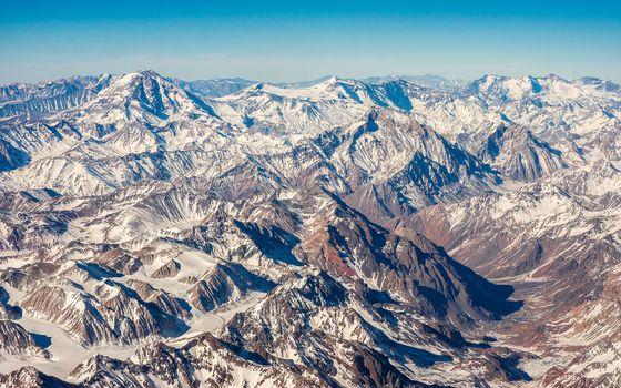 Фото бесплатно долина, снег, горный амфитеатр