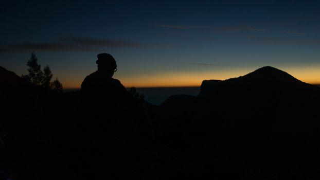 Заставки человек,силуэт,горизонт,man,silhouette,horizon