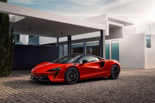 Photo free car, Mclaren, red