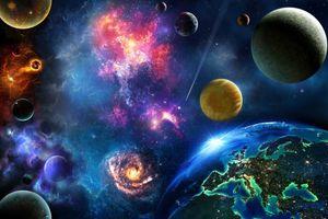 Фото атмосфера, астрономический объект на рабочий стол
