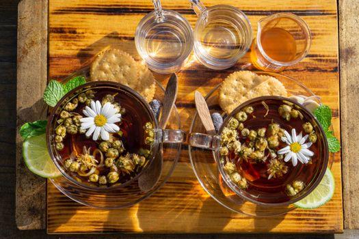 Photo free food, tea, lime