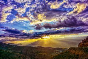 Фото бесплатно облака, небо, облачное небо