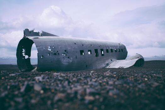 Photo free sea, wing, airplane