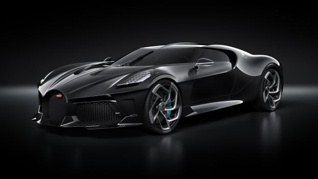 Photo free black, supercars, Bugatti La Voiture Noire