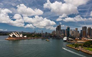 Фото бесплатно облако, пейзаж, ориентир