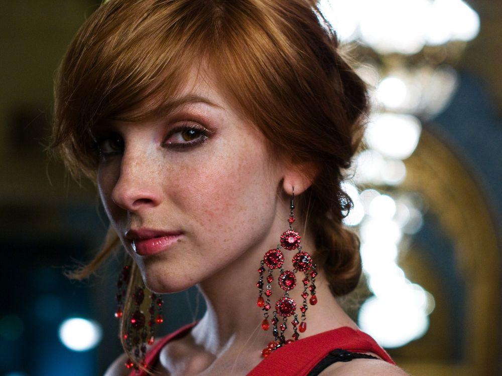 Фото бесплатно рыжий, веснушки, чувственный взгляд, Вика Керекс, девушки